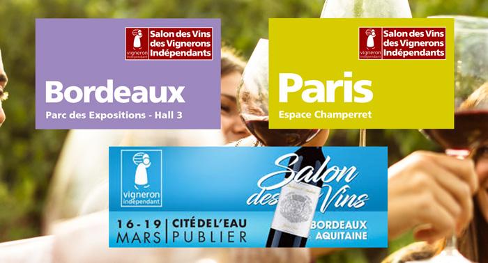 Vignobles daniel mouty - Salon des vignerons independants bordeaux ...